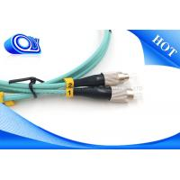 Buy cheap FTTH SM 9/125 um ST SC OM3 Fiber Opitc Patch Cord 2.0 / 3.0mm Custom from wholesalers