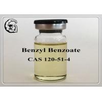 Wholesale Safe Organic Steriods Solvents Injectable Anabolic Steroids Medical Grade Benzyl Benzoate 120-51-4 from china suppliers