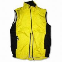 Wholesale Racing Gilet/Vest with Breathable Mesh Lining and 100% Polyester Rib Contrast Panel from china suppliers