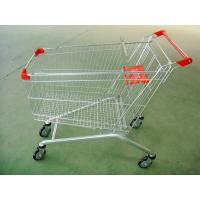 Wholesale Large Scale Shopping Malls / Supermarket Shopping Carts Trolleys With Baby Seat from china suppliers