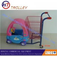 Wholesale Sweet Child Kiddie Shopping Cart , Shopping Cart For Shopping Mall from china suppliers