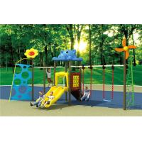 Wholesale small size kids fitness equipment outdoor swing sets with slide from china suppliers