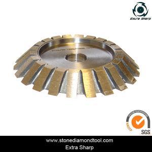 Quality Sintered Blazed Diamond Stone Edging CNC Profile Wheel Portable Router Bits for sale