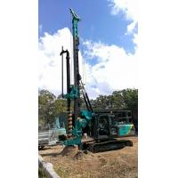 Wholesale Multi - functional Hydraulic Piling Rig Machine , CFA Construction Borehole Pile Equipment Max Torque 80KNm from china suppliers