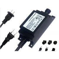 Wholesale 12v 3a LED Power Adapter IP68, 36Watt waterproof LED transformer, with UL CE Rohs SAA marked from china suppliers