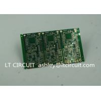 Wholesale 6 Layer Green Printed Circuit Board FR4 with V Groove White Silkscreen from china suppliers