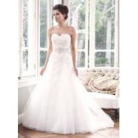 Wholesale China 2014 Latest Full-Lengt Lace/Tulle Train Hotel Bridal Wedding Dress for Wedding from china suppliers
