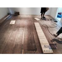 Buy cheap Customized 20/6 x 300 x 2200mm AB grade American Walnut Flooring for Philippines Villa Project from wholesalers