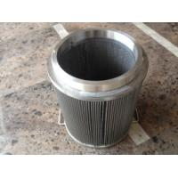 Wholesale 5 Micron High Pressure Wire Mesh Filter Element For Precise Filtration from china suppliers