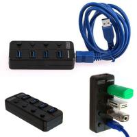 Wholesale Super speed 4ports usb3.0 switch hub For Desktop/Laptop multi-device 4port usb3.0 hub /3.0 from china suppliers