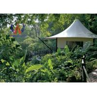 Wholesale Future Trend Permanent Tent Structures , Luxury Glamping Tents For Wildness Motel from china suppliers
