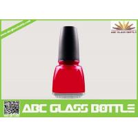Wholesale 12ml square empty glass nail polish bottles with caps and brush from china suppliers