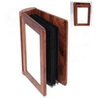 """Wholesale 4""""x6"""" Walnut wood Photo Album from china suppliers"""