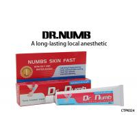 Quality Dr. Numb Gel External Use Strongest Tattoo Numbing Cream 5% Lidocaine for sale