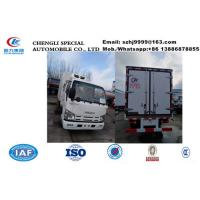 Wholesale HOT SALE! wholesale ISUZU double cabs 2tons cold room truck, factory selling best price Isuzu EuroⅤ chiller van truck from china suppliers