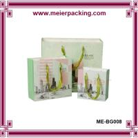 Wholesale Ribbon Handle Paper Shopping Bags/Medium Printed Paper Gift Bag/Shopping Paper Carrier Bag ME-BG008 from china suppliers