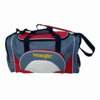 Wholesale Duffel Bag with Adjustable Shoulder Strap, Made of 600D Polyester, Sized 55 x 28 x 30cm  from china suppliers