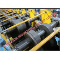 Quality Hi-Tensile Galvanised Steel Z Purlin Roll Forming Machine with Auto Decoiler for sale