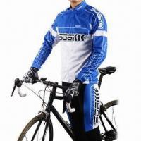 Wholesale Cycling Jersey with Close-fitting Cut and Less Air Resistance from china suppliers