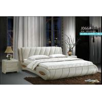 Wholesale J066,leather bed, living room home furniture,KD furniture from china suppliers