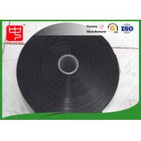 Wholesale 11 inches black hook and loop tape injection plastic hook and loop super thin hook from china suppliers