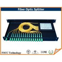 Wholesale Broadband OM3 Fiber Optic Splitter , Multi Mode Fused Coupler With Various Connectors from china suppliers