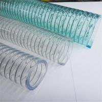 Wholesale Large diameter Flexible High Pressure PVC steel Wire Braid hose from china suppliers