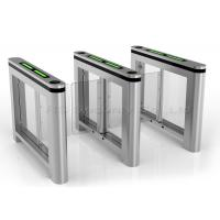 Buy cheap Auto Reset Bi-Direction Supermarket Swing Gate Barrier Pedestrian Turnstile from wholesalers