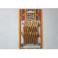 Wholesale Dripless Twisted Birthday Candles Dia 0.24 Inch With Long Burning Time from china suppliers