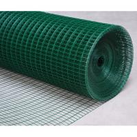 "Wholesale Plastic Coated Iron / PVC Coated Wire Mesh, low carbon steel,  3"" x 3'', custom color from china suppliers"