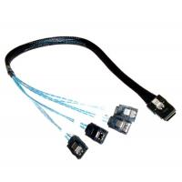 Wholesale Mini SAS x4 (SFF-8484) to SATA (4)x1 Data Cables from china suppliers