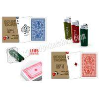 Wholesale Italy 100 % Plastic Modiano Golden Trophy Card Side Marked Poker Cards from china suppliers