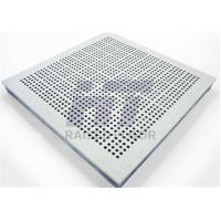 Quality Aluminum Perforated Raised Floor Ventilation Interchangeable with Solid Panel for sale