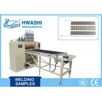 Wholesale High Efficiency 6 Head Automatic Wire Mesh Welding Machine For Condenser Wire from china suppliers