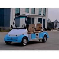 Quality Smart Electric Car 4 Seater Sightseeing Bus With Radio / MP3 Player for sale