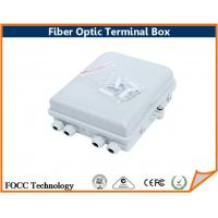 Wholesale 4 Port FTTH Outdoor Fiber Optic Termination Box With SC / LC / FC / ST Connector from china suppliers