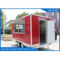 Wholesale Yieson Custom Fast Food Truck Trailers Mobile Restaurant For Australia from china suppliers