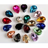 Wholesale Rhinestones Sew On Crystal Glass stones with claw acrylic rhinestone trimming from china suppliers