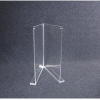 Wholesale COMER A4 Acrylic display holder stand for Inserts, Tag, Brochure, Leaflet for merchandise. from china suppliers