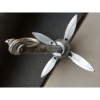 Wholesale Boat Folding Grapnel Anchor Galvanized Steel  Anchor Marine Yacht Isure Marine from china suppliers