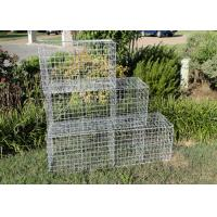 Wholesale Seal Gabion Basket Retaining Wall , Stone Baskets For Retaining Walls 2.0mm from china suppliers