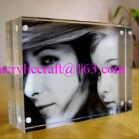 Wholesale Customize 5mm transparent Acrylic Photo Frame PMMA Photo Stand from china suppliers