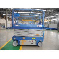 Wholesale 90 Degree Steering Rough Terrain Scissor Lift , Portable Scissor Lift Space Saving from china suppliers