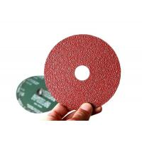 Wholesale 100mm Aluminum Oxide Resin Fiber Sanding Discs For Angle Grinder Start from Grit 24 from china suppliers