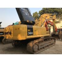 Wholesale 2014 Year Used Komatsu Long Reach Excavator PC360-7 1.6cbm Bucket 6 Cylinders from china suppliers