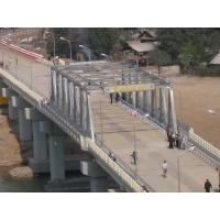 Quality Cable Stayed Modular Steel Pedestrian Bridge Heavy LoadingFor Delta for sale