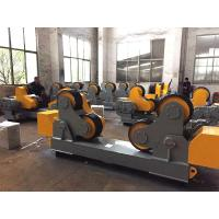 Buy cheap 30 Ton PU Self - Aligning  Pipe Welding Rotator Stands With Remote Hand Control from wholesalers