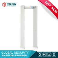 Wholesale Portable Intelligent Security Walk Through Metal Detector Body Scanner For Airport from china suppliers