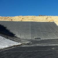 Wholesale Reinforced Polyethylene Pond Liner , Anti - UV Hdpe Geomembrane Sheet from china suppliers