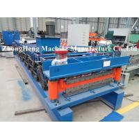 Wholesale HIgh Speed Roof Tile / Roofing Sheet Roll Forming Machine With PLC Control System from china suppliers